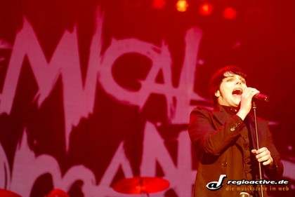Chemisch - Fotos: My Chemical Romance bei Rock am Ring 2007